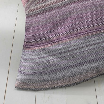 Covered bed linen Satinbettwäsche Weave - Purple – Bild 4