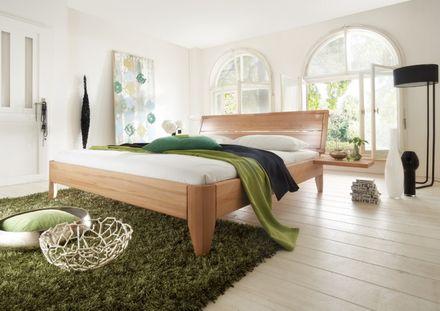 """Tjoernbo Bett Easy Sleep """"Wünsch dir was"""" Kernbuche geölt Kopfteil 1  – Bild 1"""