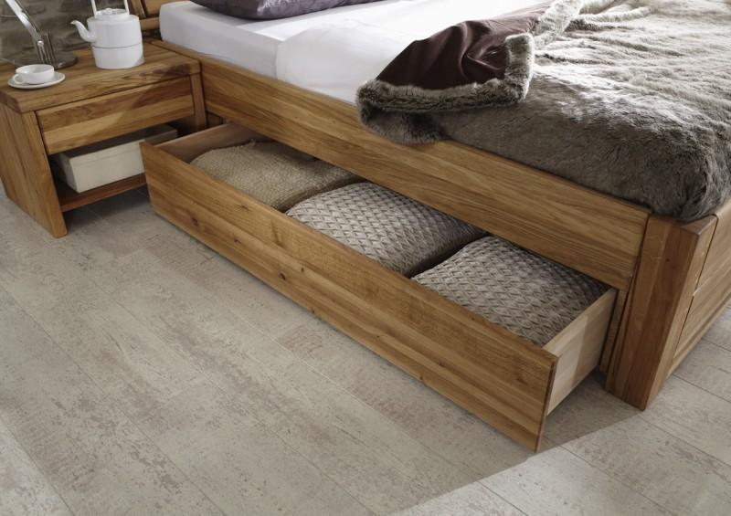 tjoernbo bett mit bettkasten komforth he 45 cm easy sleep w nsch dir was kiefer kopfteil 1. Black Bedroom Furniture Sets. Home Design Ideas