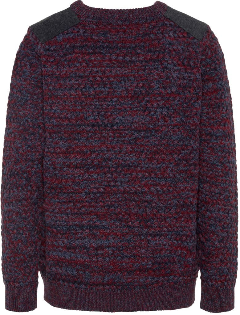 Name it Jungen Strick-Pullover Winterpullover warm NKMELLIOT – Bild 2