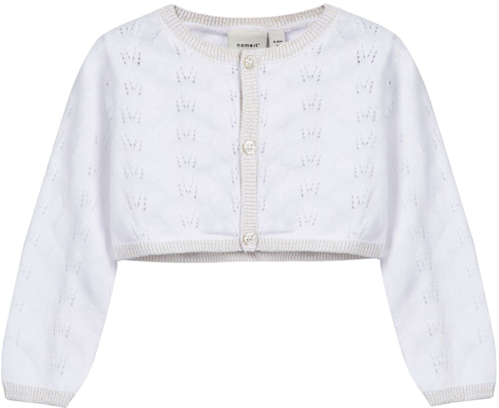 Name it Baby Bolero festlich weiß NBFSANNE