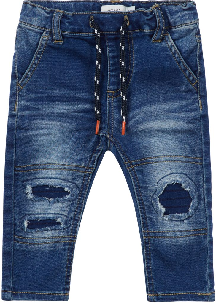 Name it Baby Jungen Jeanshose destroyed Style NBMSofus denim blue  – Bild 1