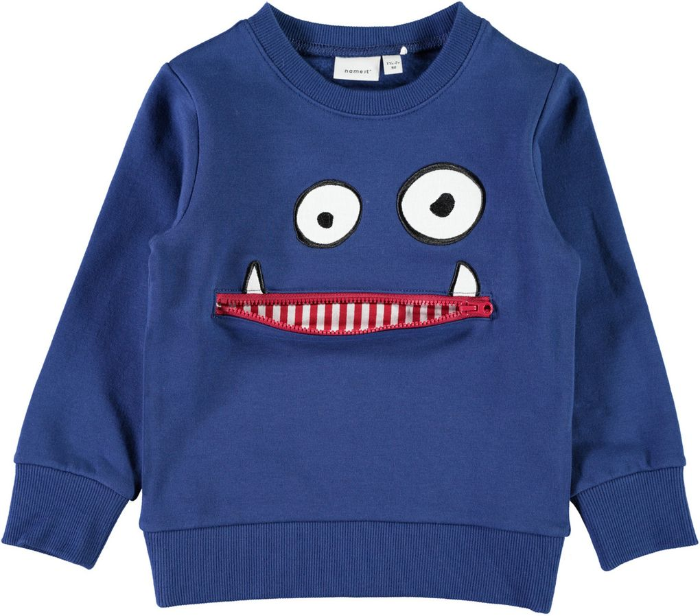 Name it Jungen Sweater NMMOLDRIK angeraut – Bild 2