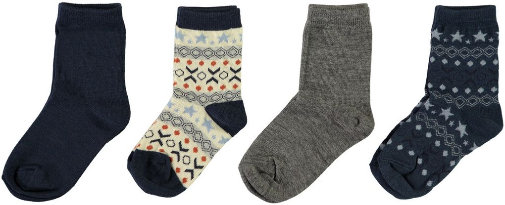 Name it Baby Merino Wollsocken im günstigem 4er Pack NBMWAK
