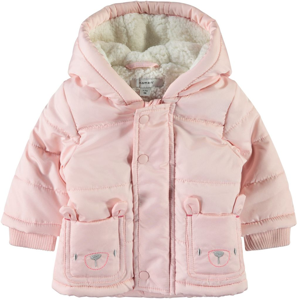 Name it Baby Winterjacke NBFMAKI rosa – Bild 1