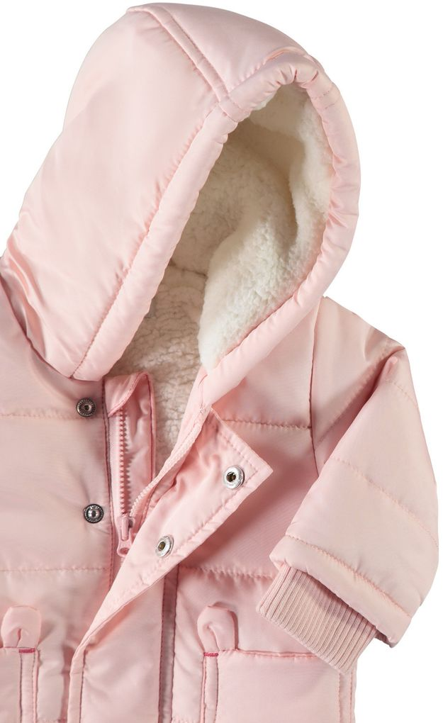 Name it Baby Winterjacke NBFMAKI rosa – Bild 3