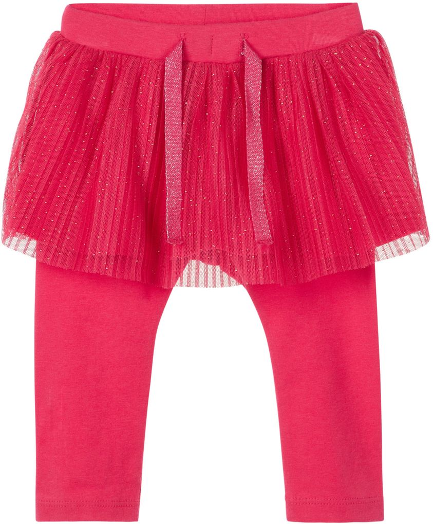 Name it Baby Mädchen Tüllrock mit Leggings NBFREGITZE in virtual pink – Bild 1