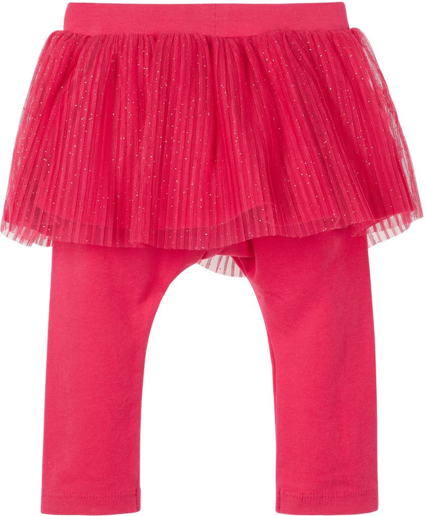 Name it Baby Mädchen Tüllrock mit Leggings NBFREGITZE in virtual pink – Bild 2