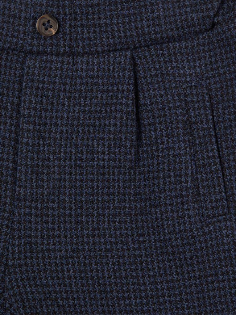 Name it Baby Jungen Anzug-Hose festlich NBMSEFISK dunkelblau kariert – Bild 3