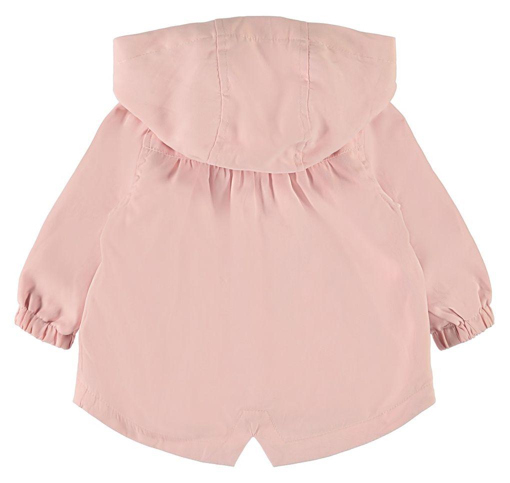 Name it Baby Mädchen Übergangsjacke mit Kapuze NBFMERLE in silver pink – Bild 2
