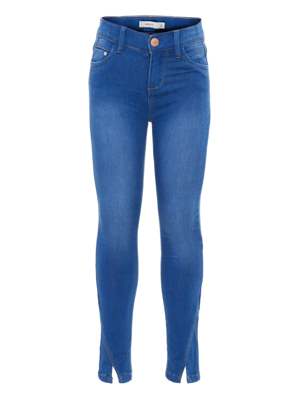 02f5efb2ed9cff Name it Mädchen Jeans Hose Skinny fit NKFPOLLY medium blue denim