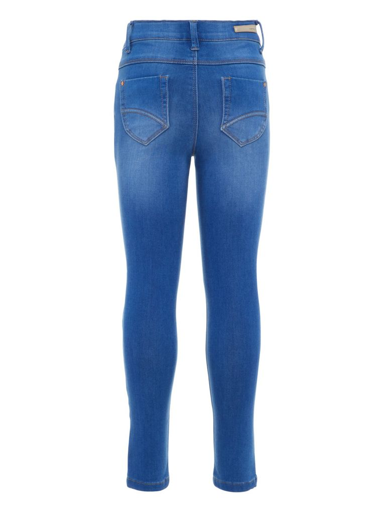 Name it Mädchen Jeans Hose Skinny fit NKFPOLLY medium blue denim – Bild 2