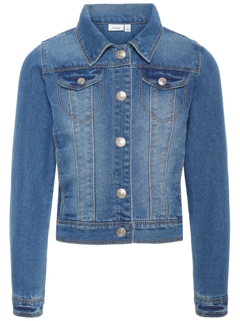 Name it Mädchen Jeansjacke NITSTAR in medium blue denim