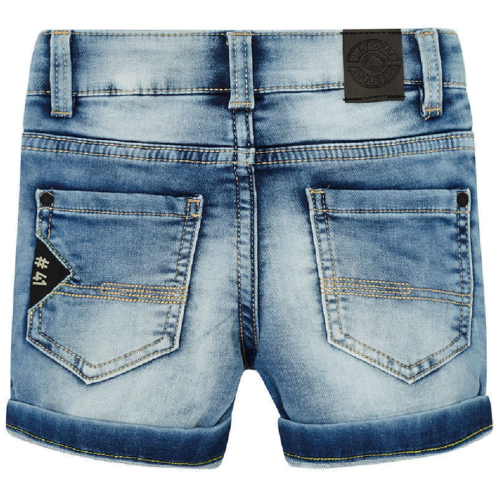 Mayoral Kinder Jungen Jeans-Bermuda Long-Shorts Denim Light – Bild 2