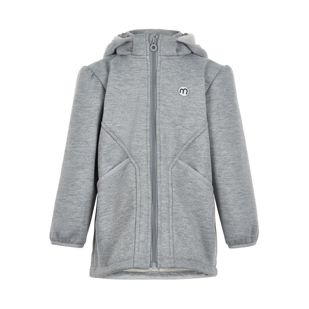 Minymo Mädchen Softshelljacke Übergangsjacke grey melange