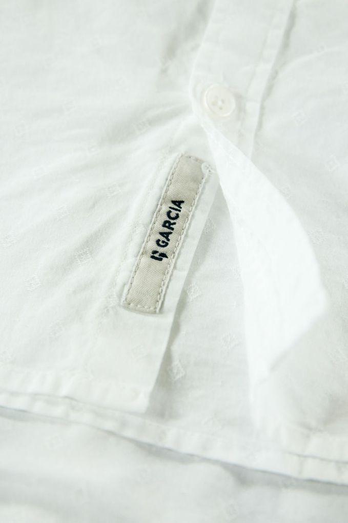 Garcia Jungen Hemd langarm festlich Baumwolle weiß – Bild 2
