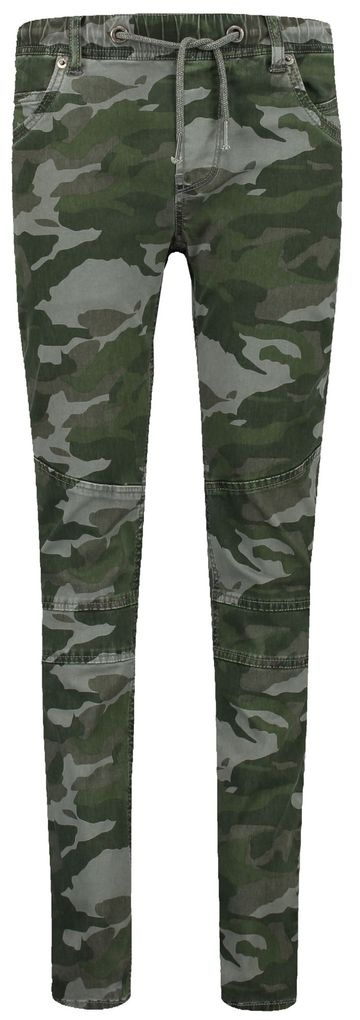 Garcia Jungen Cargohose Lazlo in puddle Camouflage regular fit – Bild 1