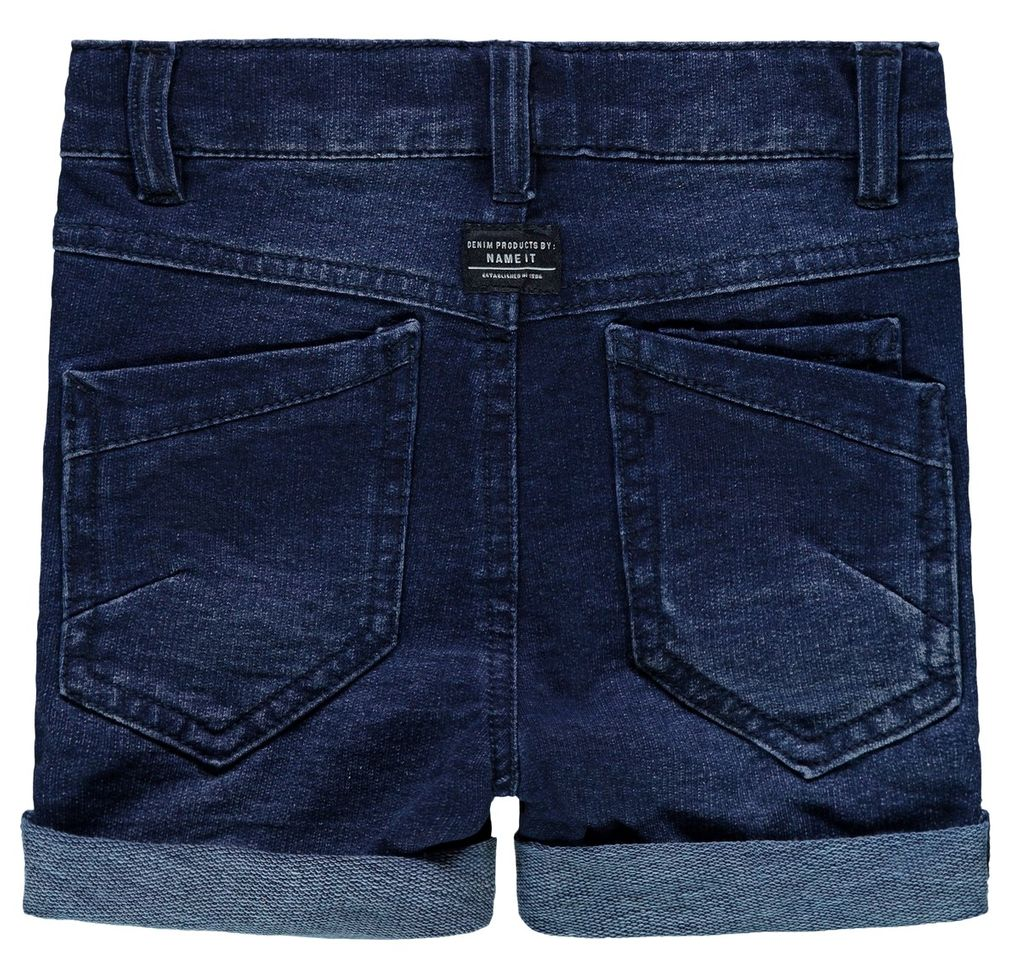 Name it Jungen Long Shorts NMMsofus Sweat Denim Bermuda – Bild 2