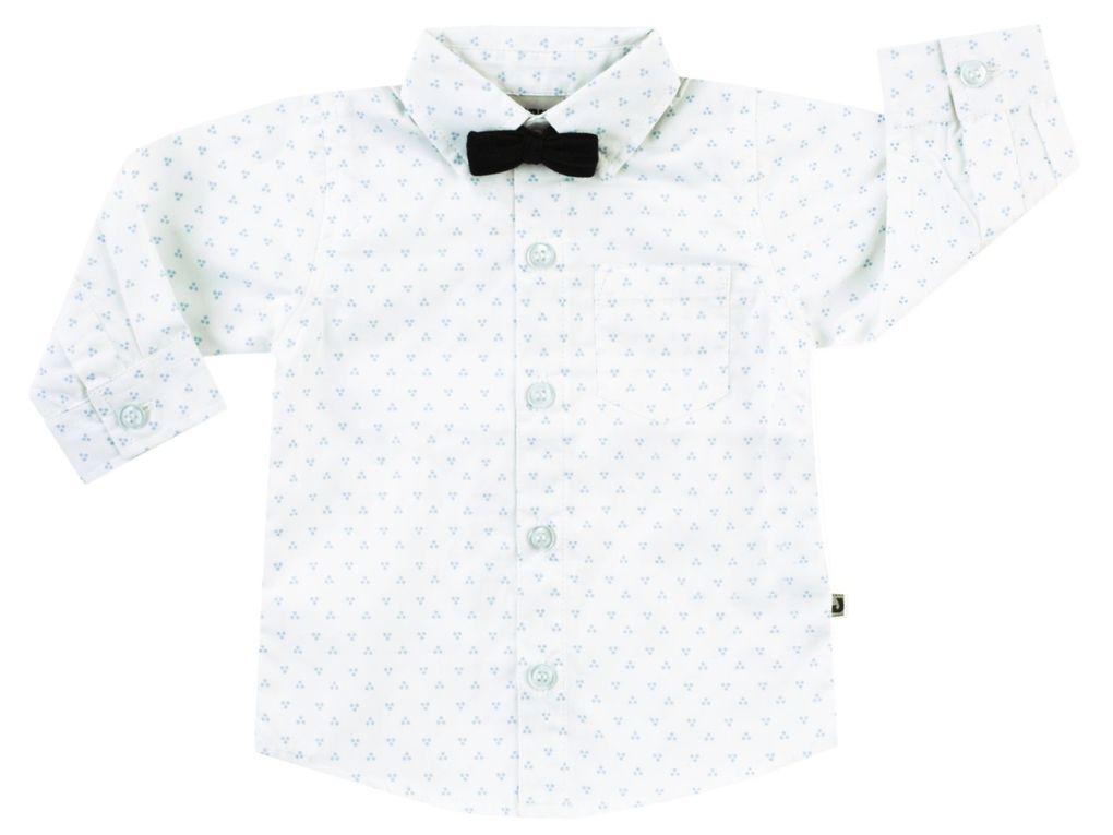 Jacky Baby Jungen Hemd langarm mit Fliege festlich