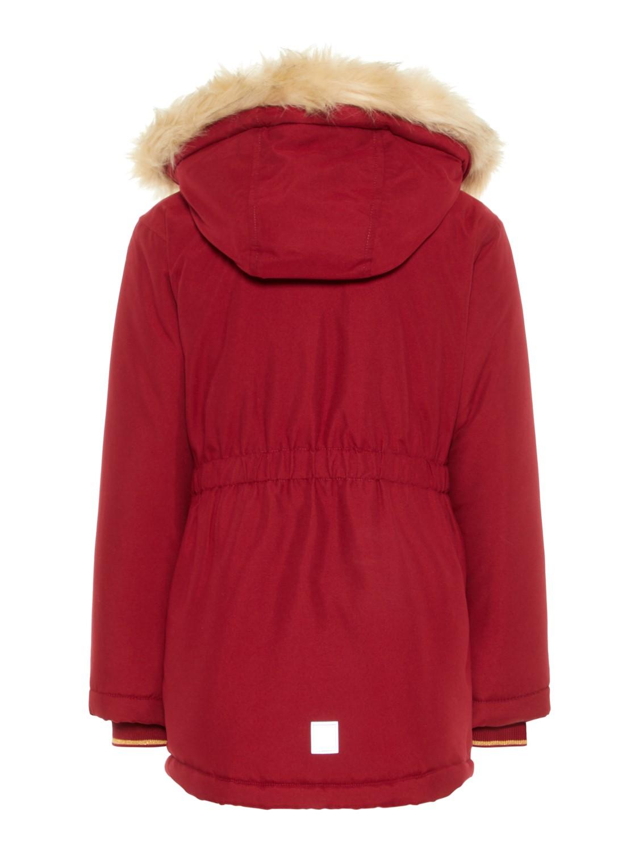 Details zu Name it Mädchen Winterjacke Gr. 92 122 NMFMOA PARKA JACKET PB Anorak warm