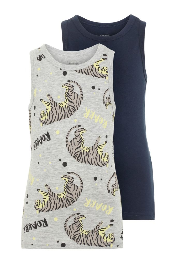 Name it Baby Jungen Unterhemden 2er Pack NMMTANK TOP