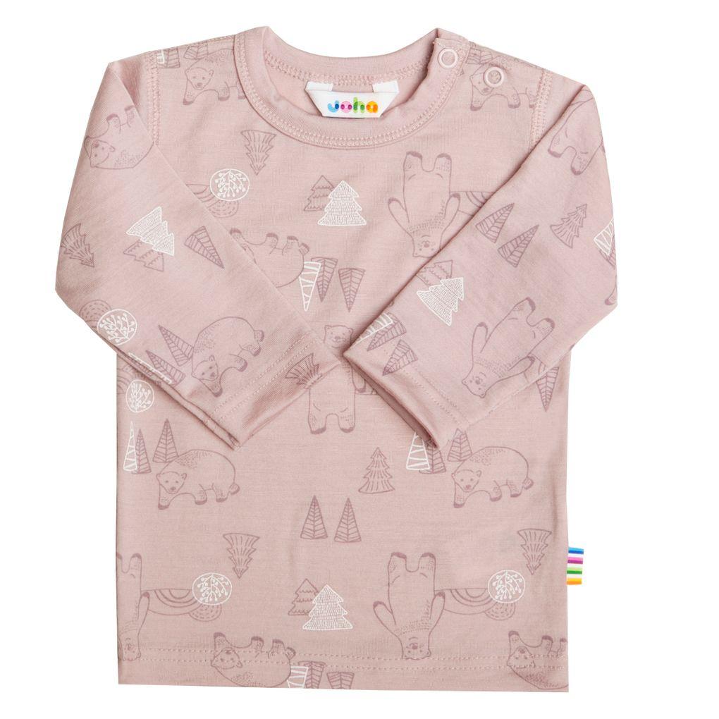 Joha Baby Kinder Mädchen Langarmshirt aus Merino-Wolle