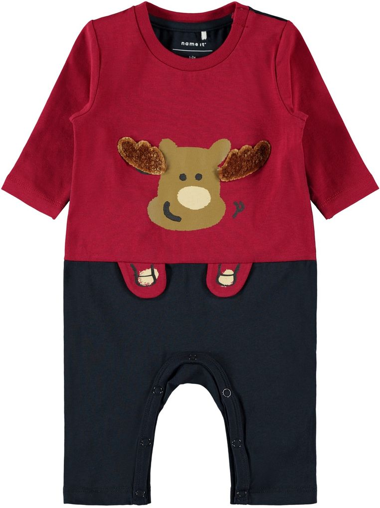 Name it Baby Jungen Overall lang NBMROTTO LS SUIT BOX