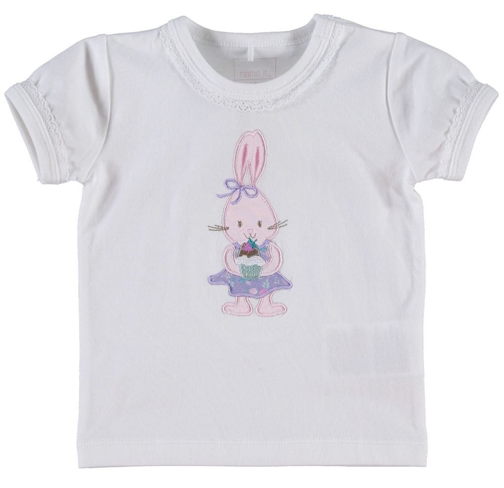 Name it Baby Mädchen T-Shirt Haley – Bild 1