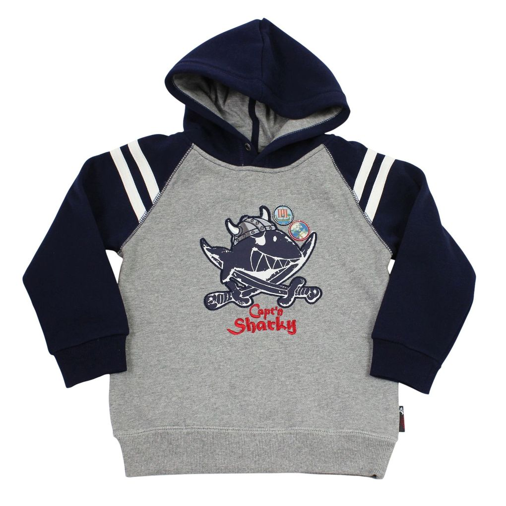 Salt and Pepper Kapuzensweatshirt Capt'n Sharky – Bild 1
