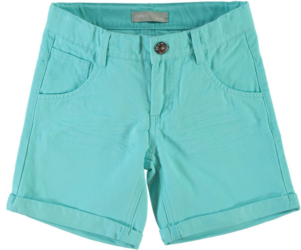 NAME IT Jungen Chino-Longshorts blue radiance Jacks – Bild 1