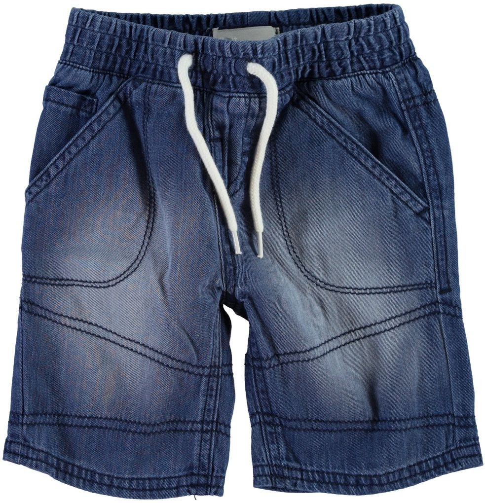 NAME ITJungen Jeansshorts Rayben medium blue denim – Bild 1