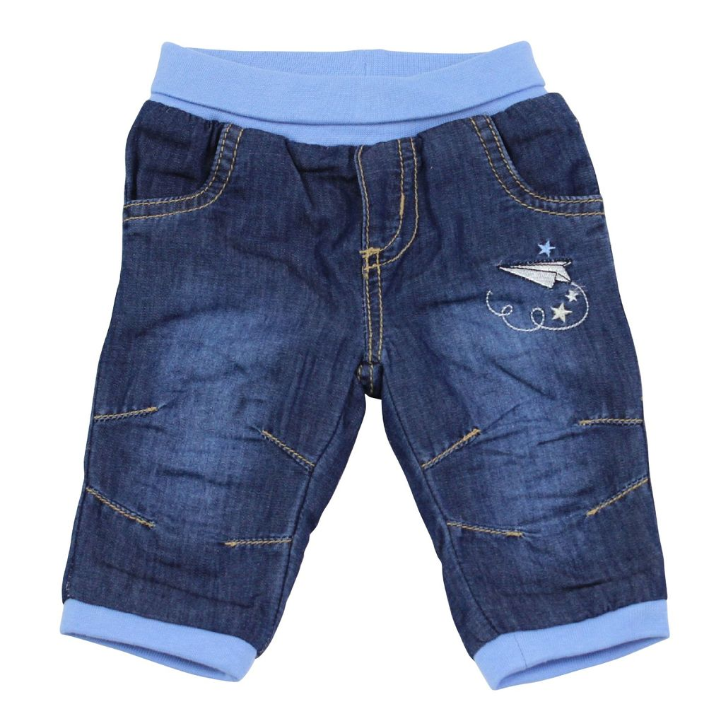 Salt and Pepper Baby Thermo-Jeans mit Softbund little star – Bild 1