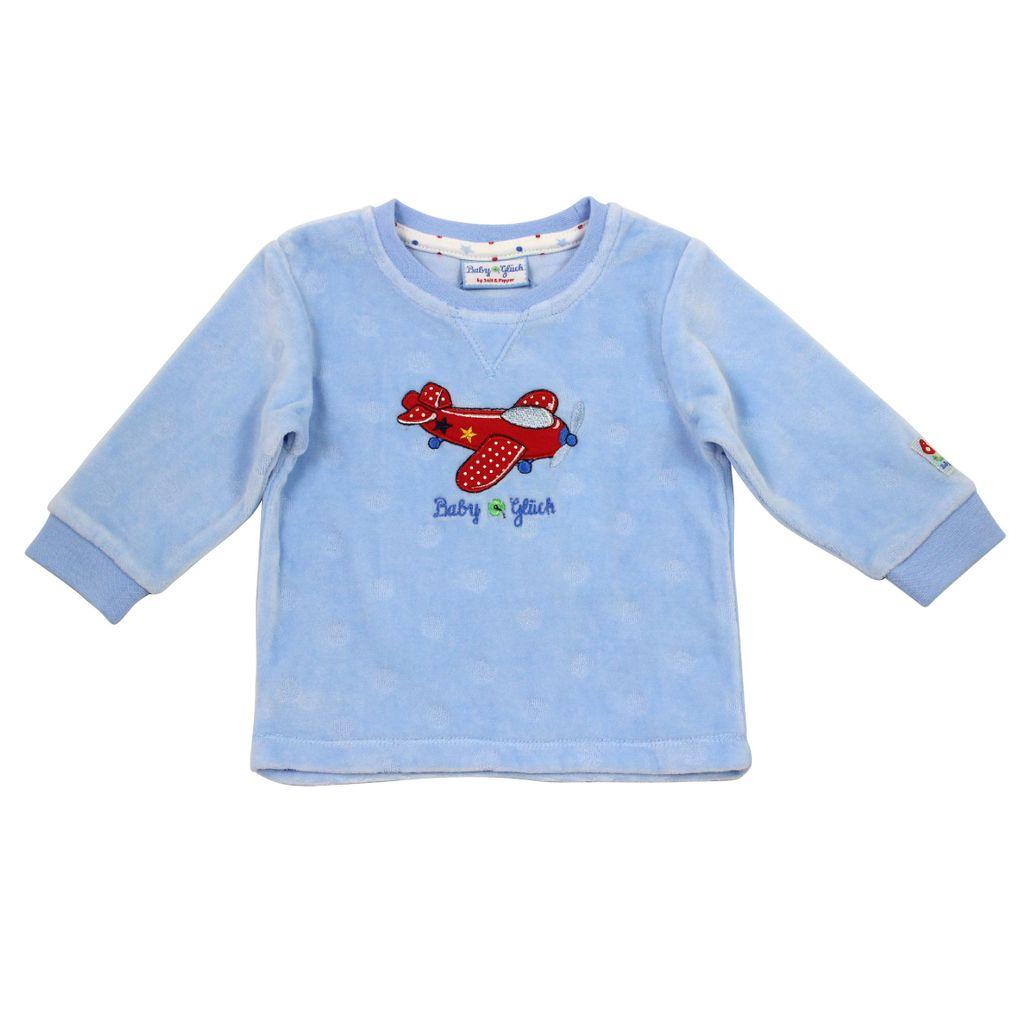 Salt & Pepper Baby Glück Jungen Sweatshirt Nicki Flieger – Bild 1