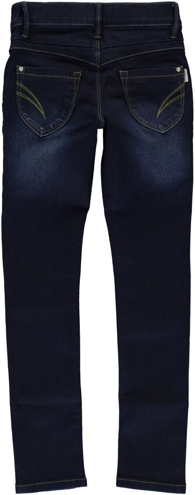 NAME IT Mädchen Stretch-Jeans Ada slim blue denim – Bild 4