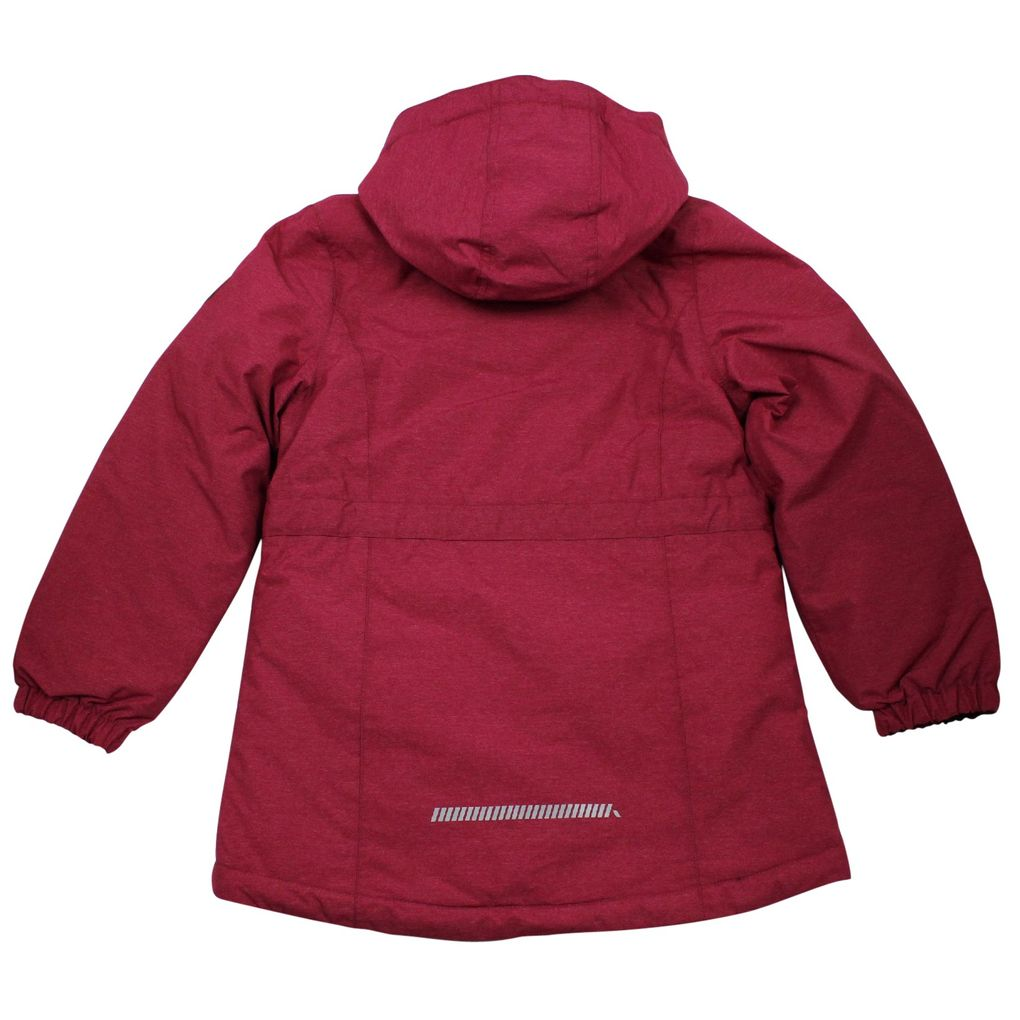 Name it Mädchen Winterjacke Funktionsjacke in sangria Medenim – Bild 2