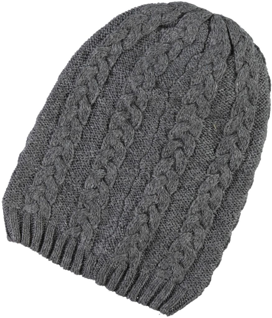 Name it Playtech Kinder Wintermütze mit Wolle grey melange Meflex