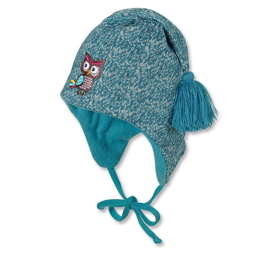 Sterntaler Baby Wintermütze Zipfelmütze Eule