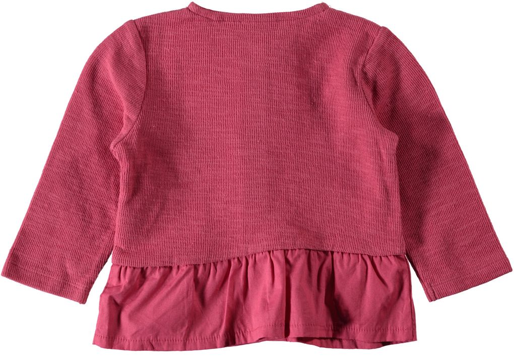 Name it Baby Strickjacke rapture rose Niteva – Bild 2
