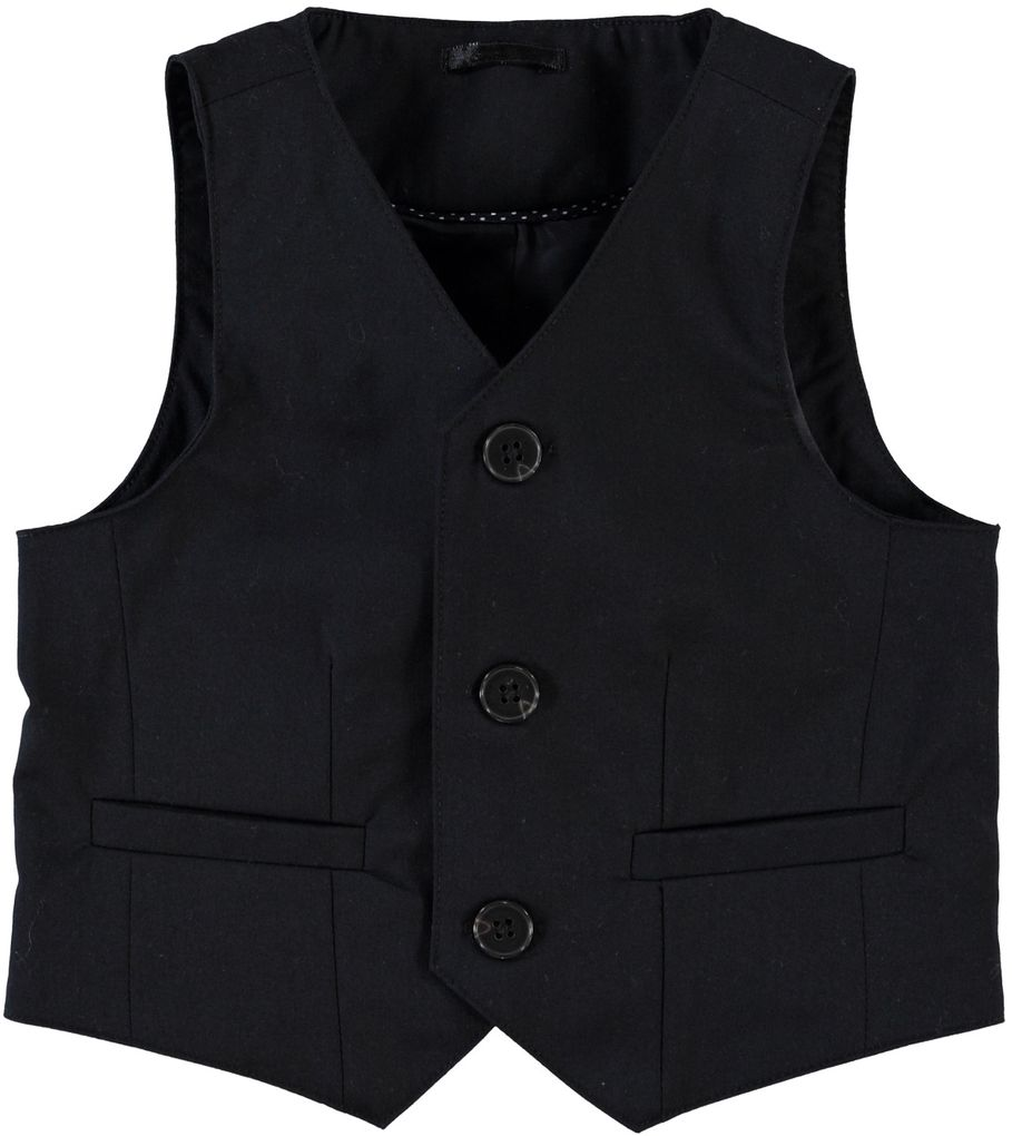 Name it Anzug-Weste für Jungen schwarz Nitpanava mini
