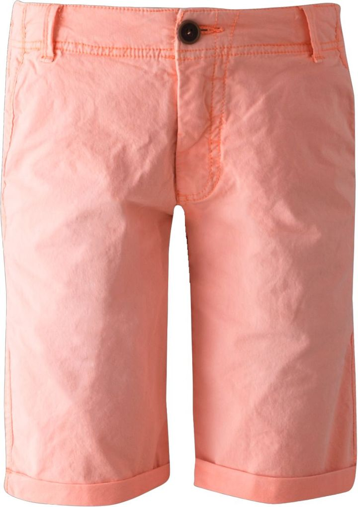 Garcia Jungen Bermuda Long Short marsala neon-orange