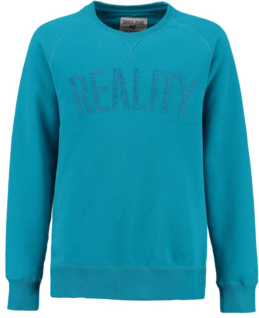 Garcia Jungen Rundhals-Sweatshirt Reality in icy