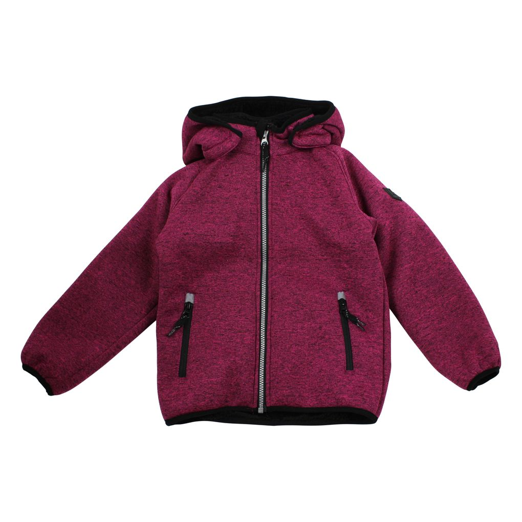 Name it Kinder Softshelljacke mit Teddyfutter Nitbeta fuchsia – Bild 1