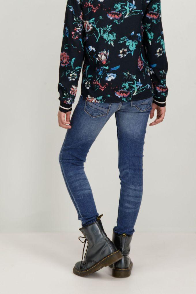 Garcia Mädchen Jeanshose Skinny in vintage blue Sara superslim fit – Bild 4