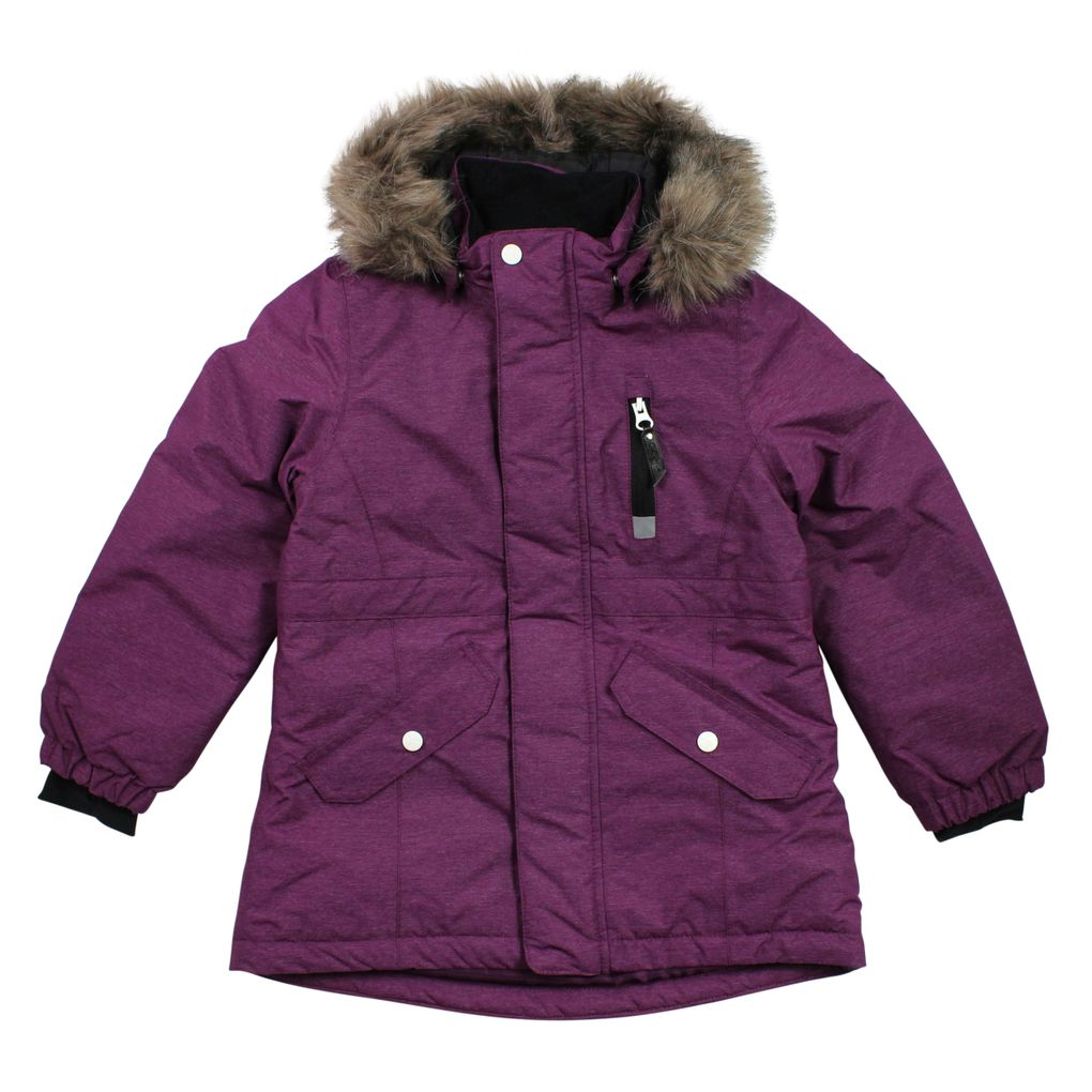 Name it Mädchen Winterjacke Funktionsjacke in dark purple Nitmedenim – Bild 1