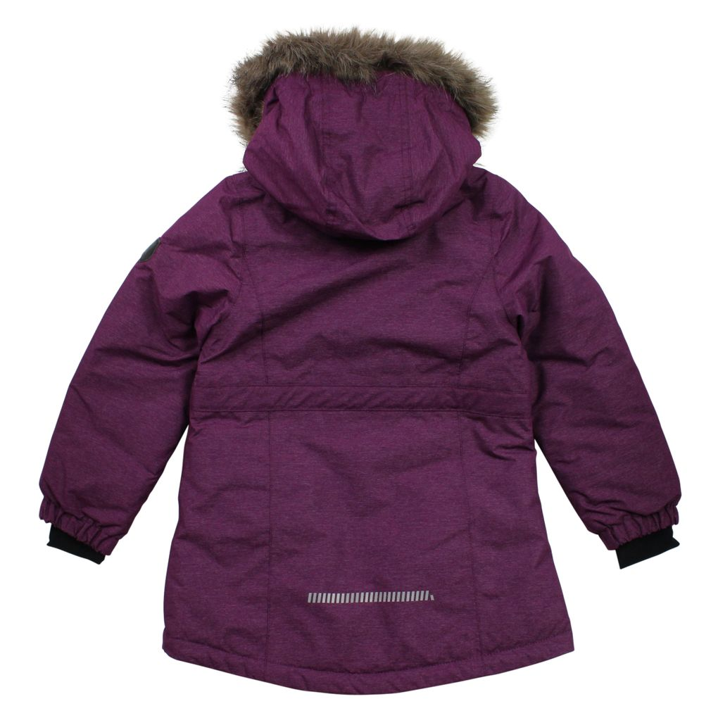 Name it Mädchen Winterjacke Funktionsjacke in dark purple Nitmedenim – Bild 2