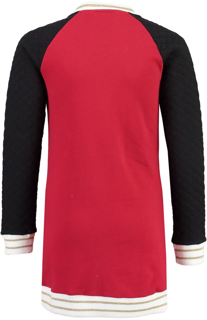 Garcia Mädchen Long-Sweatjacke langer Hoodie in chili pepper – Bild 2