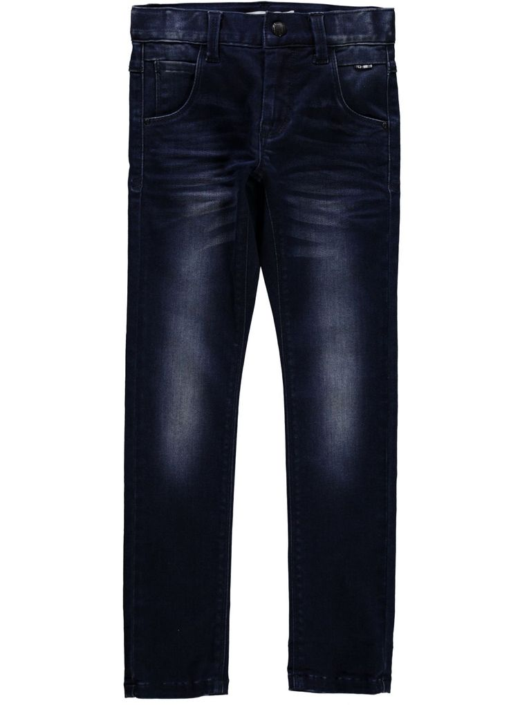 Name it Jeanshose für Jungen x-slim Nitclassic dark blue denim – Bild 1