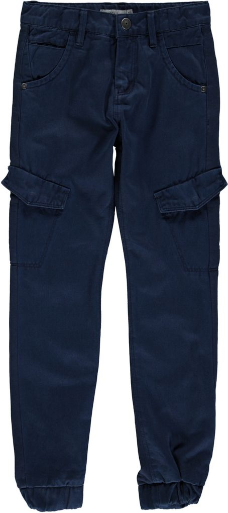 Name it Jungen Chino-Hose im Workerstyle in dunkelblau Nittarry