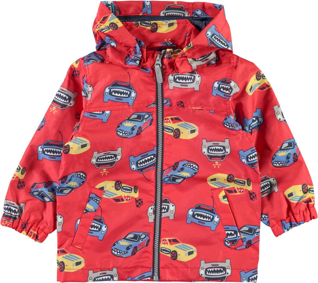 Name it Jungen Übergangsjacke NMMMellon Auto in high risk red