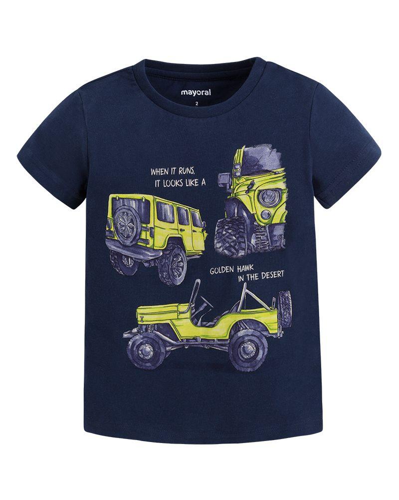 Mayoral Jungen T-Shirt Geländewagen marino